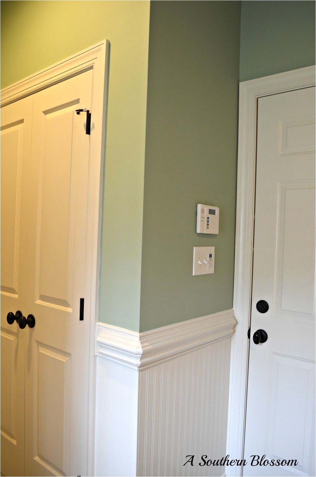 color laurel mist by behr