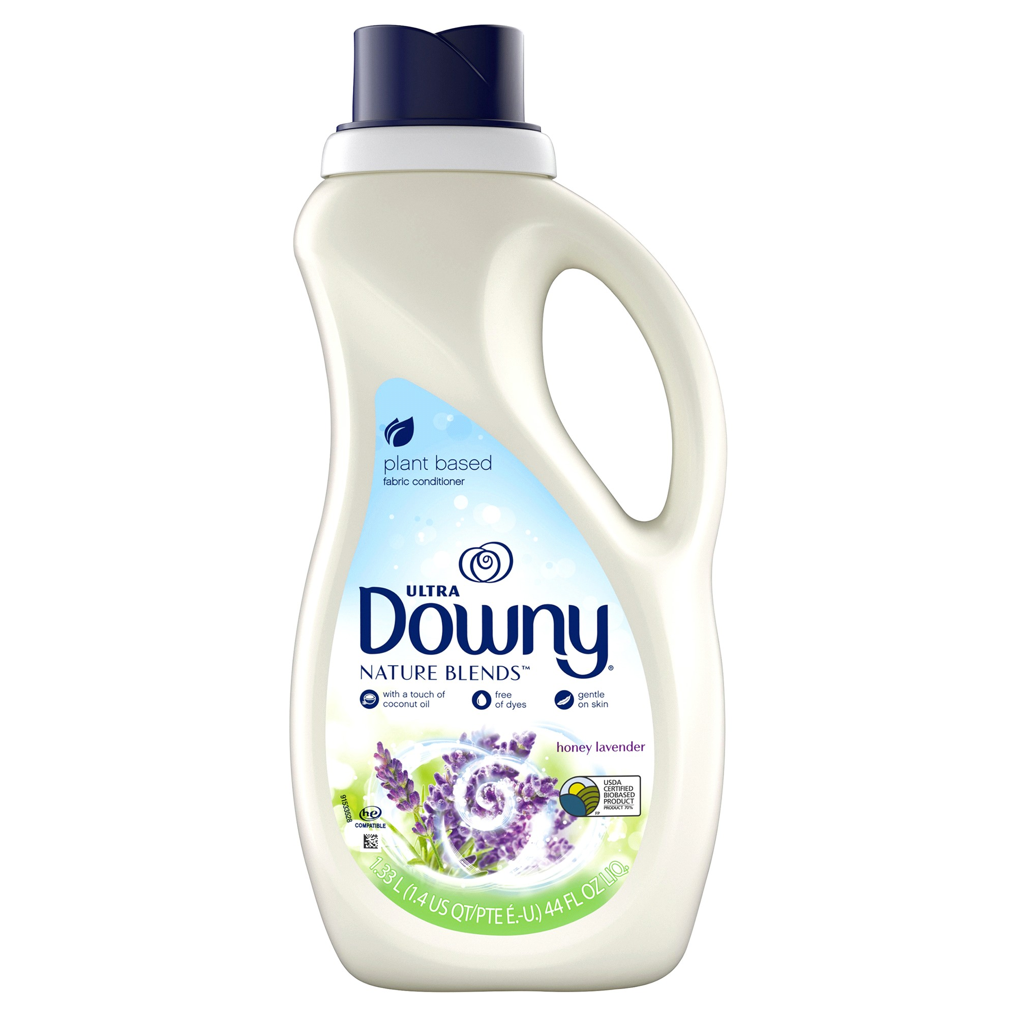 downy nature blends liquid fabric conditioner fabric softener honey lavender 52 loads 44 fl oz meijer com