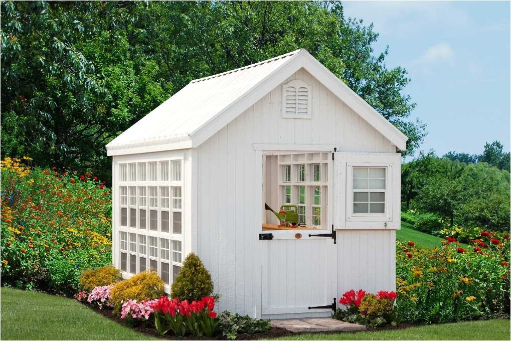 little cottage company 8x16 colonial gable greenhouse p 607