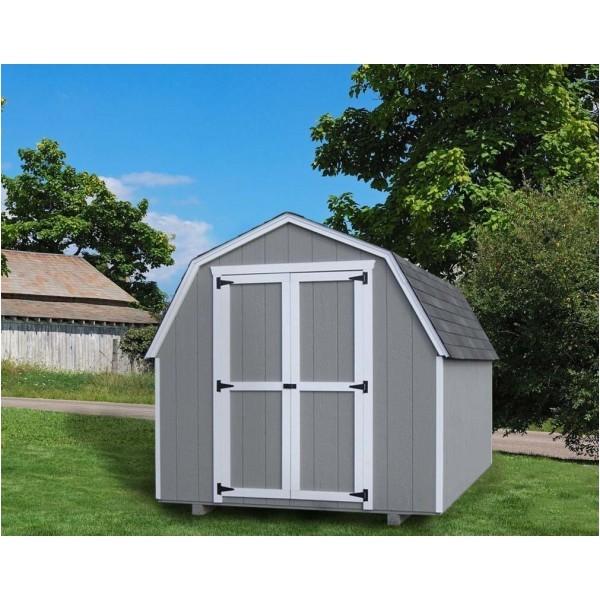 4866 little cottage gambrel barn 10x12 vgb 4 wpc