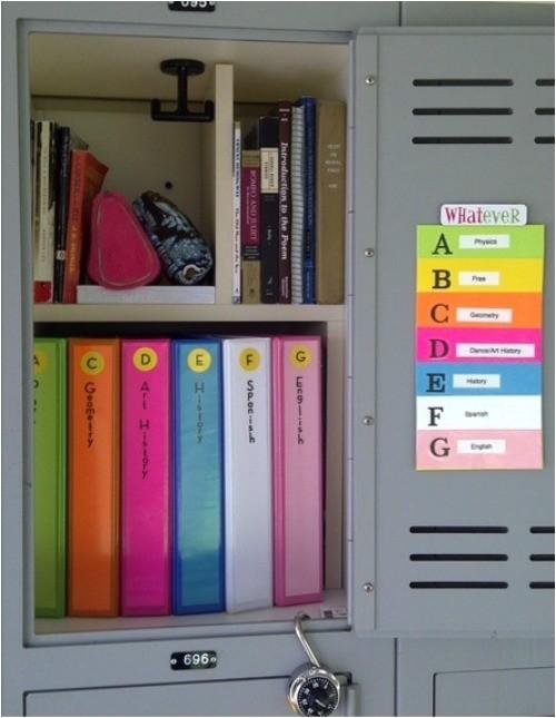 locker ideas