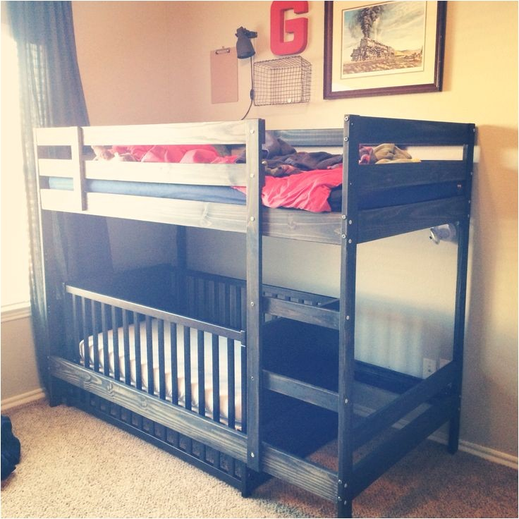 Loft Bunk Bed with Crib Underneath toddler Bunk Beds Ikea Woodworking Projects Plans