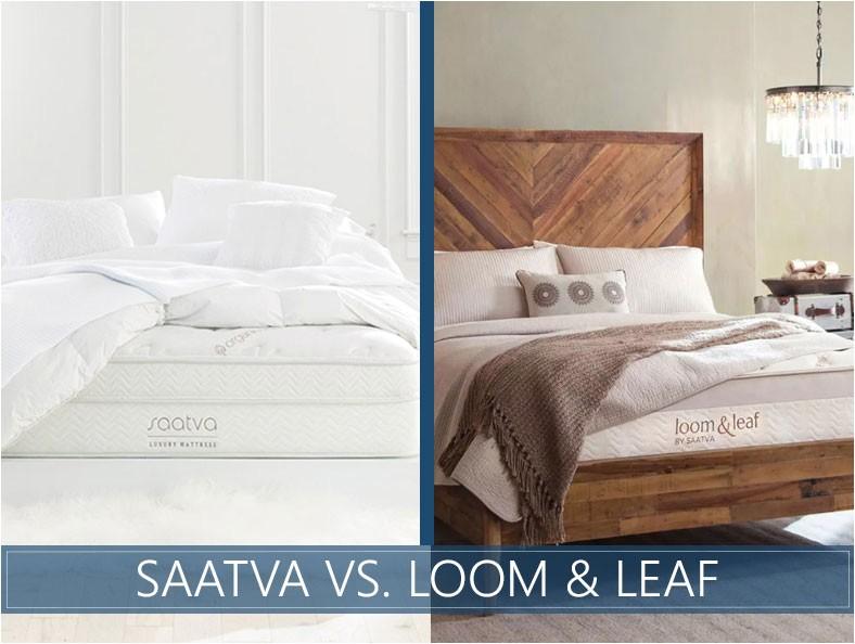loom and leaf vs saatva