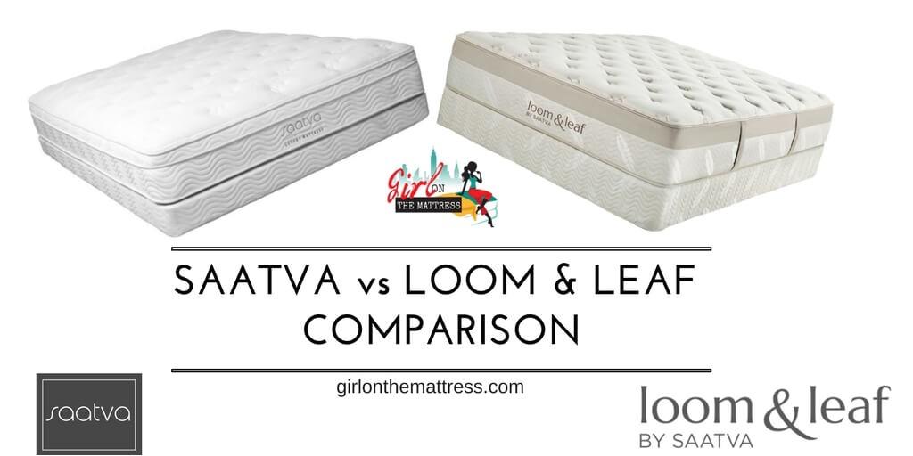 saatva vs loom and leaf