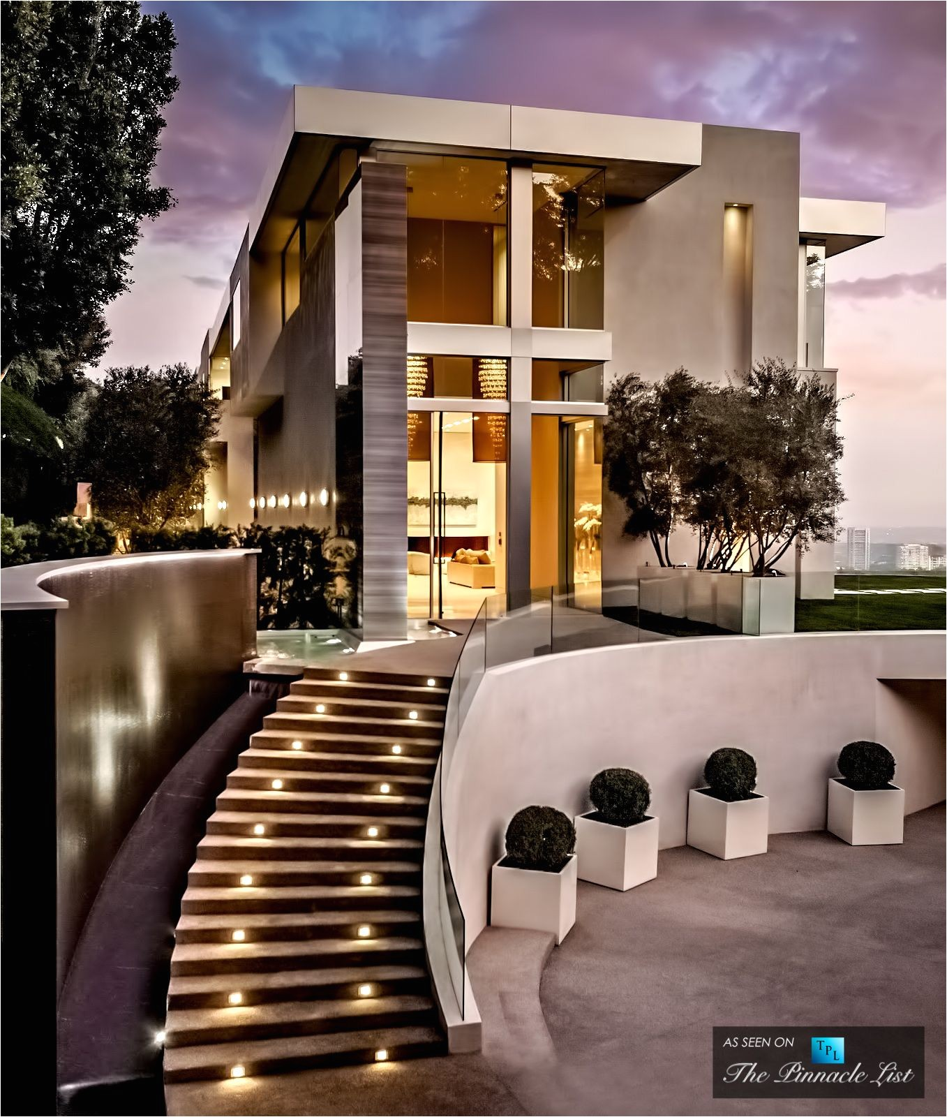Los Angeles Architect House 24 5 Million Bel Air Residence 755 Sarbonne Rd Los Angeles Ca