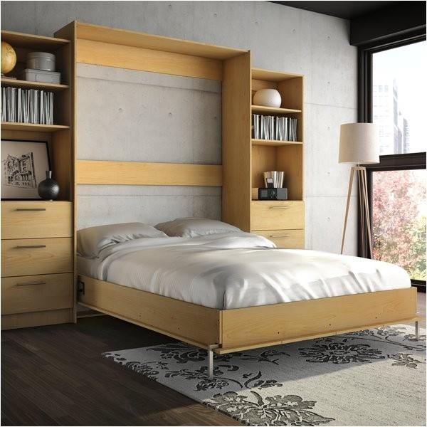Lower Weston Murphy Wall Bed Wade Logan Lower Weston Murphy Wall Bed Reviews Wayfair Ca