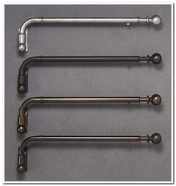 Making A Swing Arm Curtain Rod Swing Arm Curtain Rod Brackets Projects to Try