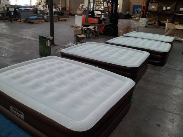 a 39 58916 new coleman queen size double high quickbed air bed 45 kingsport tn
