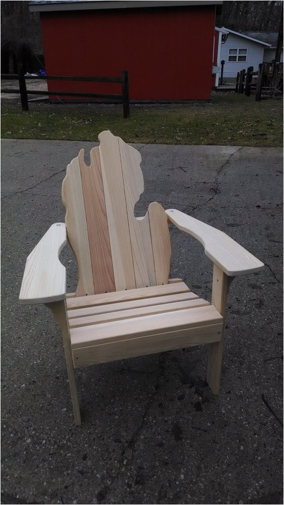 michigan adirondack chair fall liesure