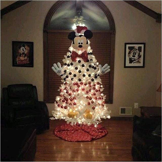 Mickey Mouse Christmas Tree Kit Disney Christmas Tree Ideas Popsugar Moms
