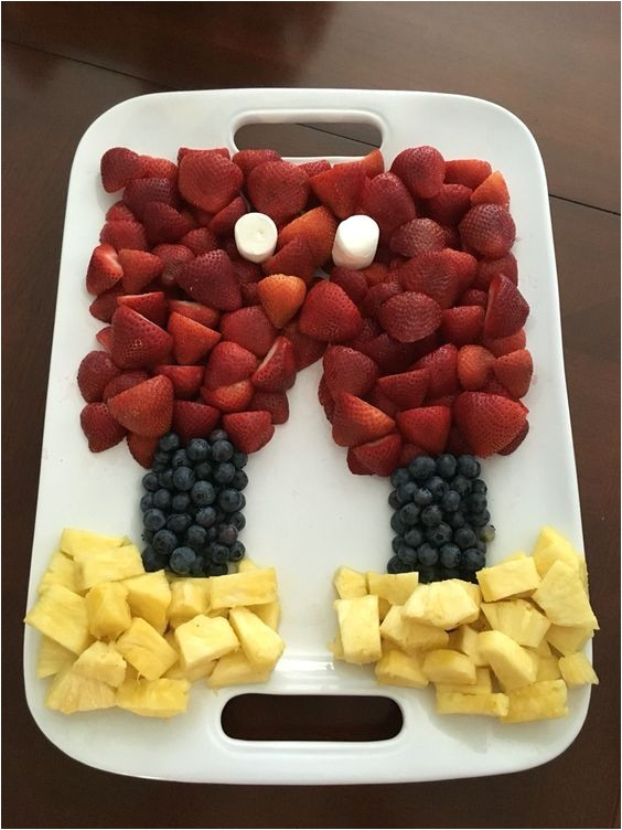 Mickey Mouse Shaped Fruit Tray 40 Mickey Mouse Party Ideas Mickey 39 S Clubhouse Pretty