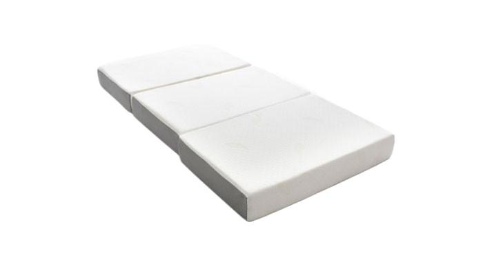 milliard 6 inch memory foam tri fold mattress
