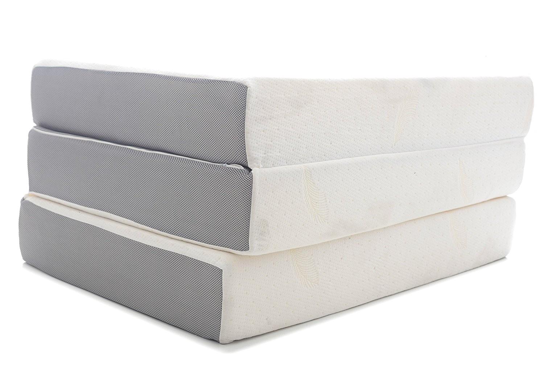 Milliard 6-inch Memory Foam Tri-fold Mattress Twin Milliard 6 Inch Memory Foam Tri Fold Mattress Review