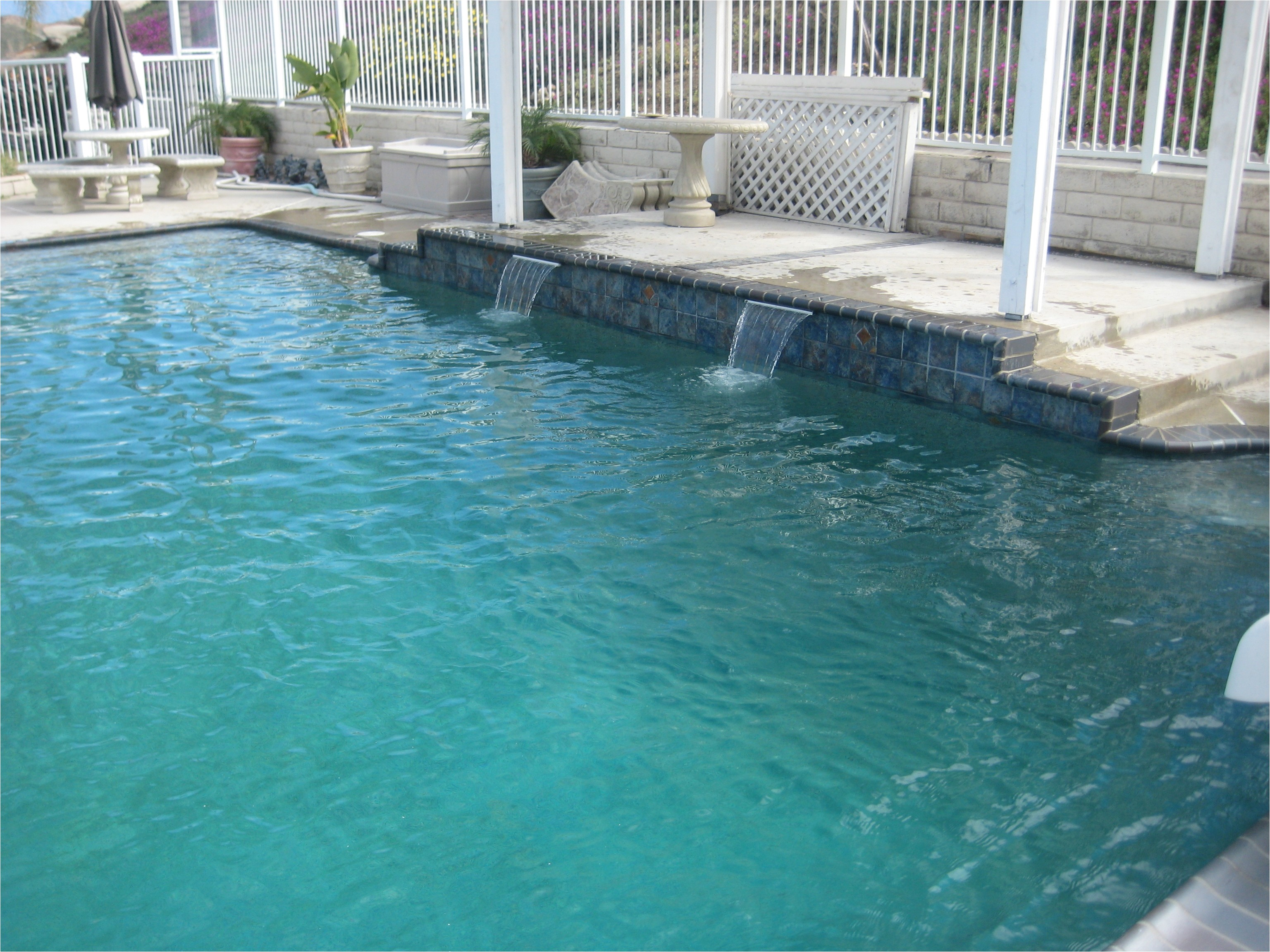 caribbean blue pool plaster