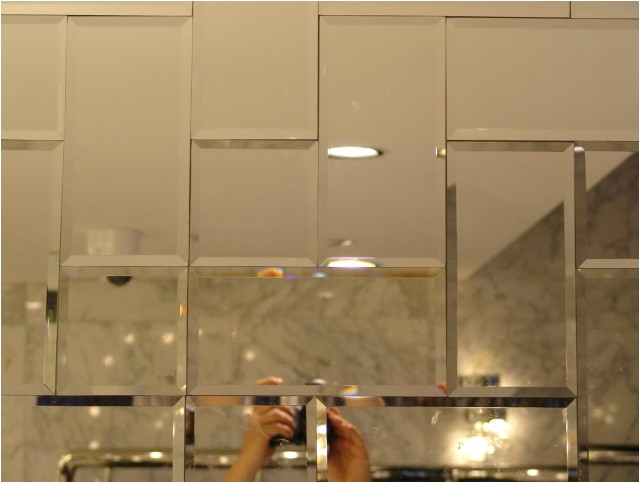 10022 mirrored subway tiles lowes