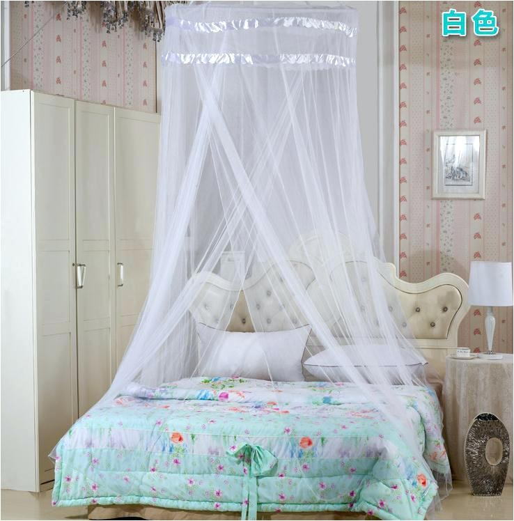 mesh bed canopy mosquito net adult insect bedroom decoration curtain ikea