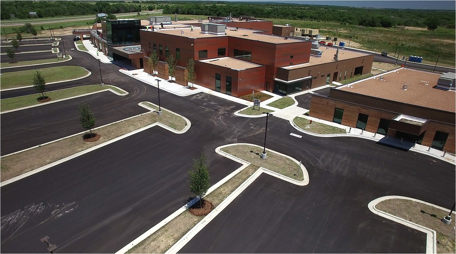 muscogee creek nation okemah indian health center moving to new location at the new