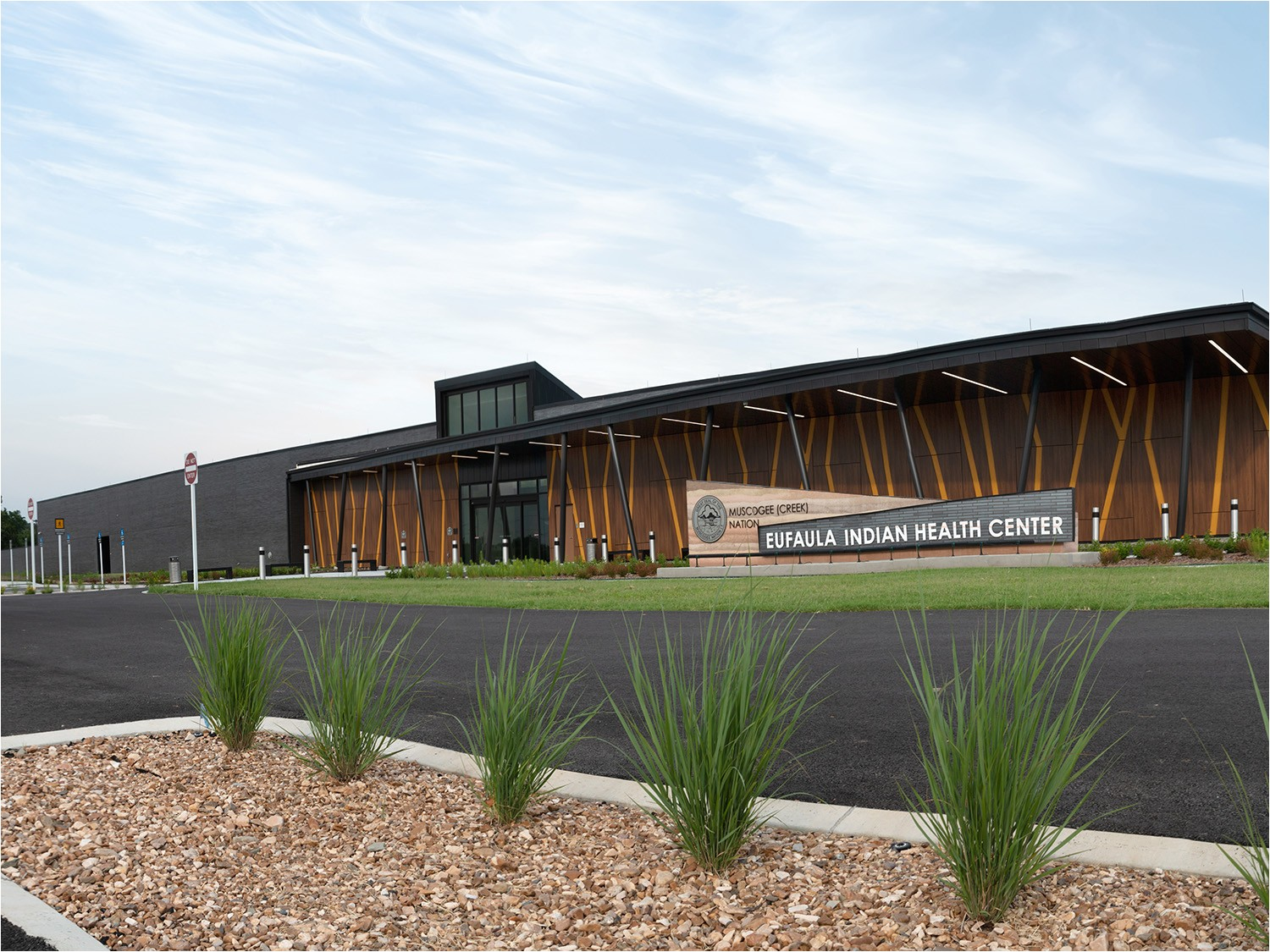 muscogee creek nation s new eufaula indian health center facility opened its doors aug