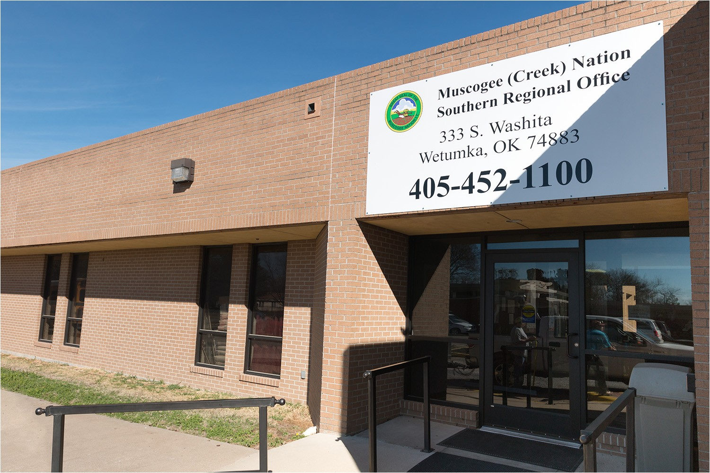 muscogee creek nation southern regional office