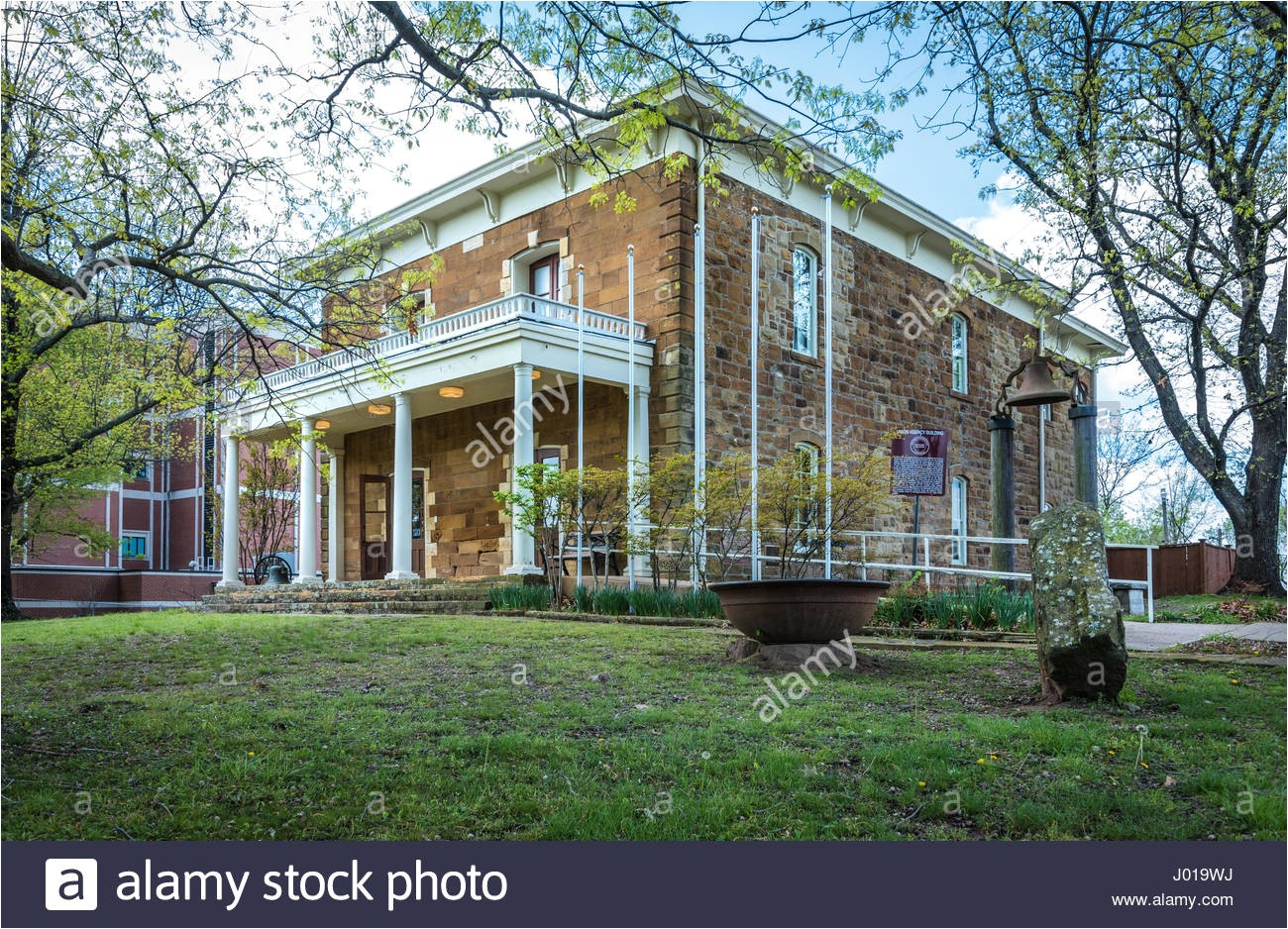 stock photo the five civilized tribes museum in muskogee oklahoma is housed in 137712670