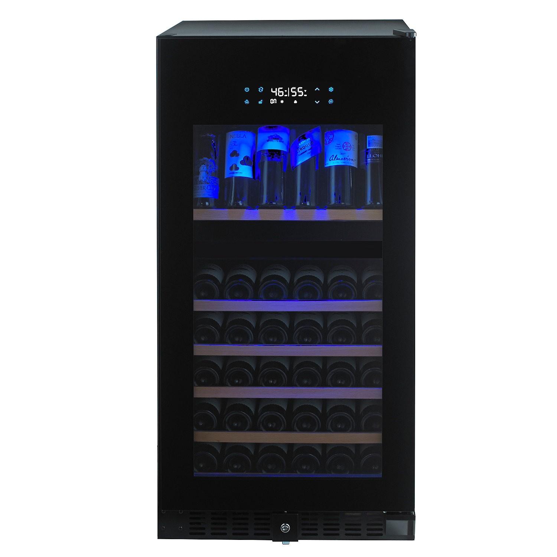 n finity pro hdx 94 dual zone wine cellar full glass door