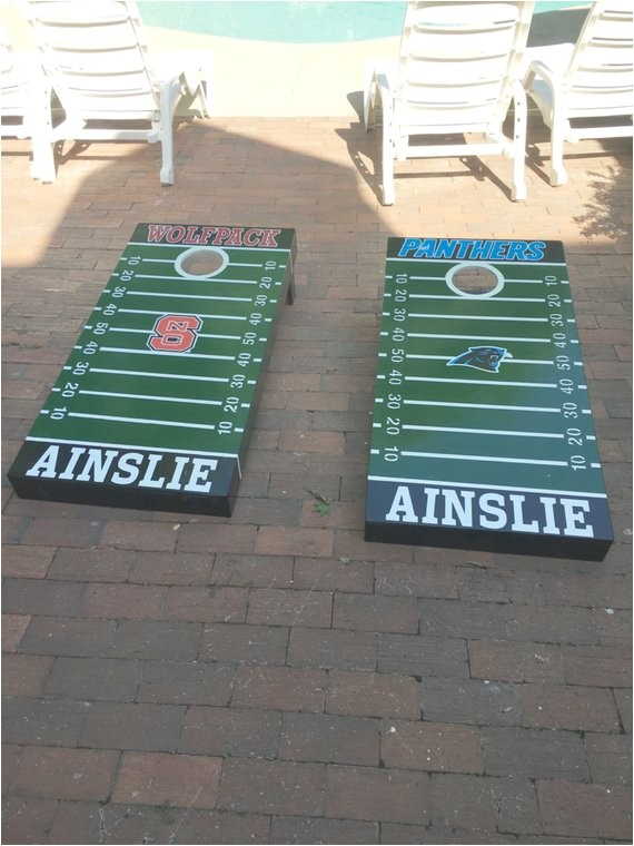 Nfl Decals for Bean Bag Boards Items Similar to Nfl Corn Hole Bean Bag toss Decals