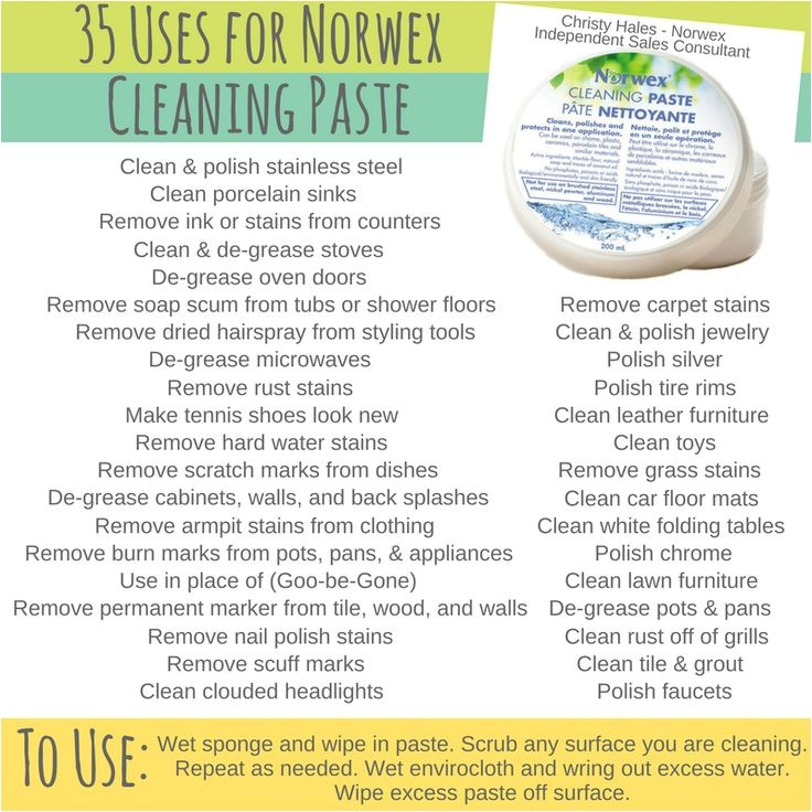 Norwex Cleaning Paste Uses Pinterest Images and Photos About norwex On Pixstats