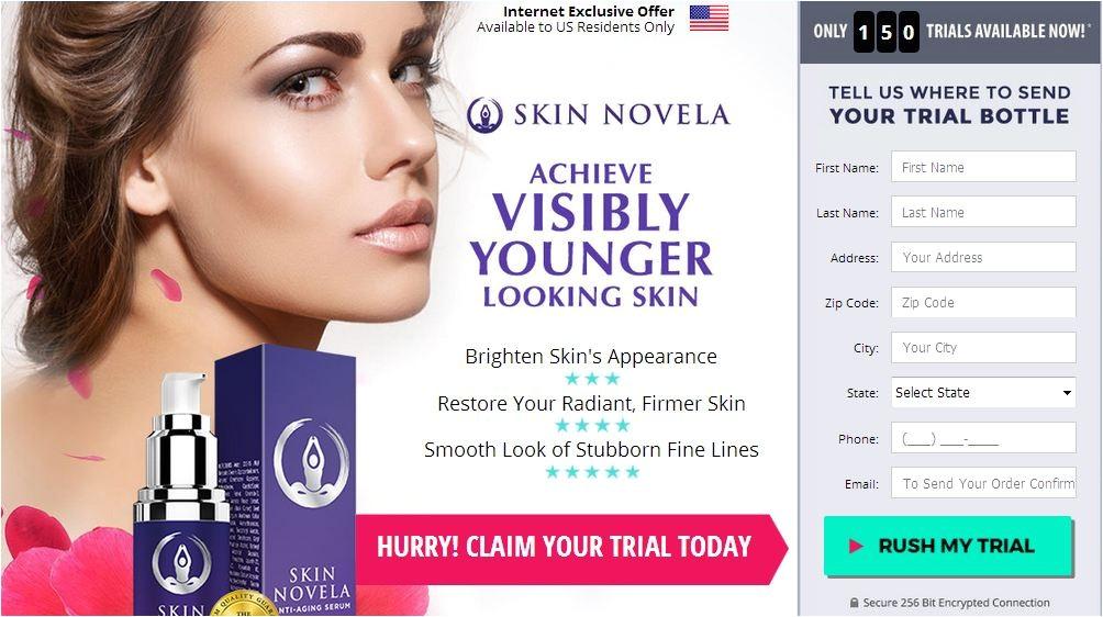 skin novela anti aging serum