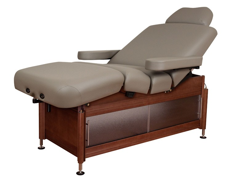 oakworks clinician manual hydraulic lift assist salon top massage table