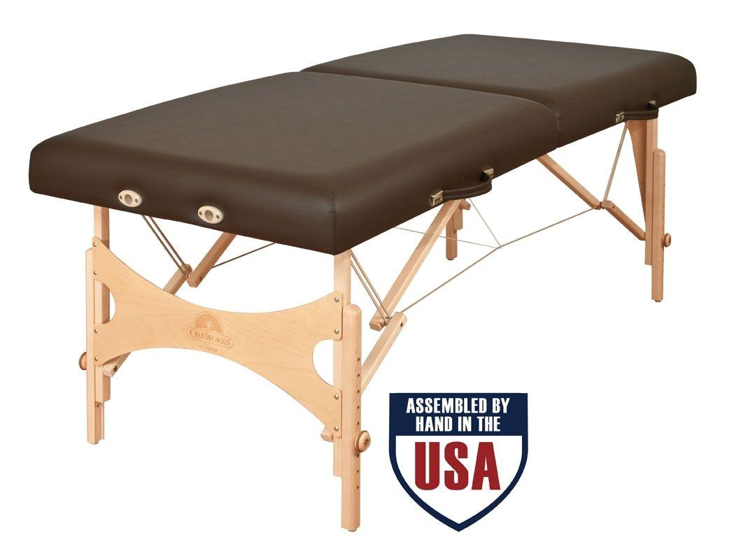 Oakworks Nova 4 Massage Table Oakworks Nova Portable Massage Tables Professional Grade