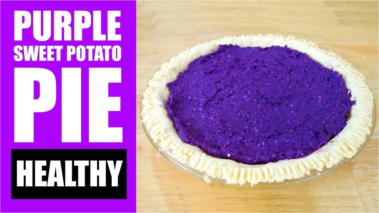 amazing healthy purple sweet potato pie recipe purple sweet potato pie almond flour pie crust