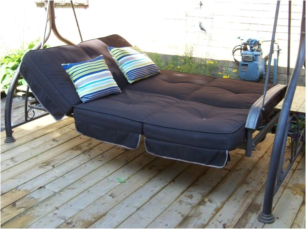 costco large patio swing daybed with canopy can deliver 25887524
