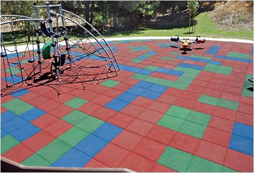 recreational rubber tiles