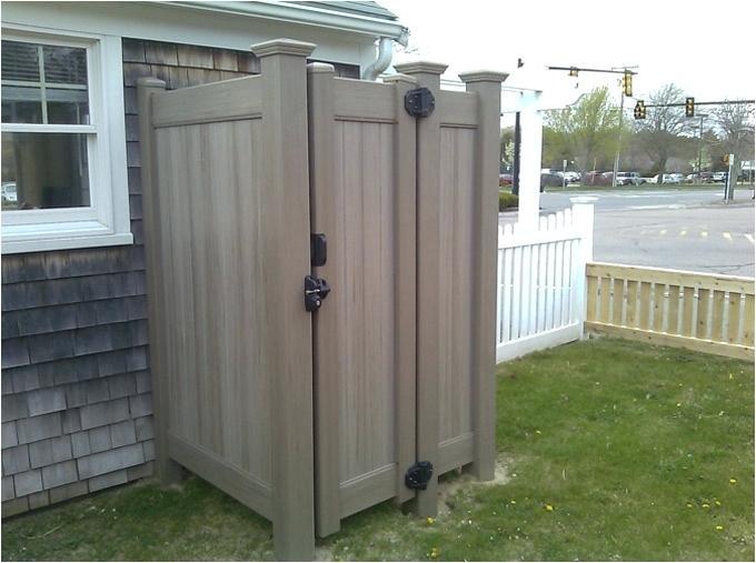 outdoor shower enclosures bathroom simple silver half round metal outdoor shower enclosures cool outdoor bathroom design vinyl outdoor shower enclosure designs