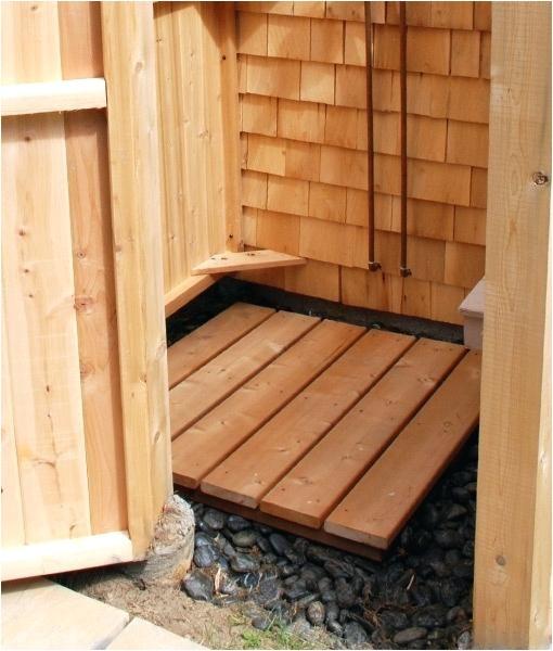 outdoor shower enclosures