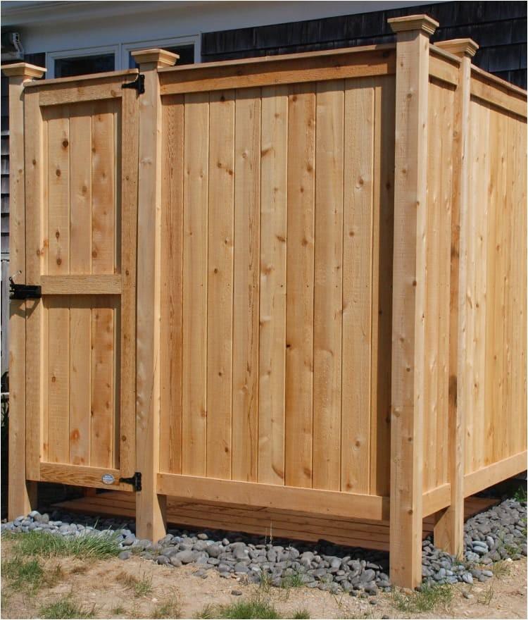 cedar outdoor shower kit 83 xl