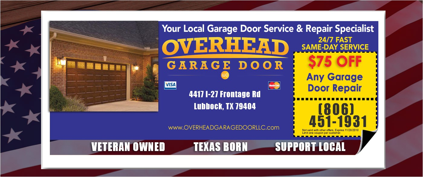 Overhead Garage Door Lubbock Tx Overhead Garage Door Specials the Lubbock Overhead Garage Door Team