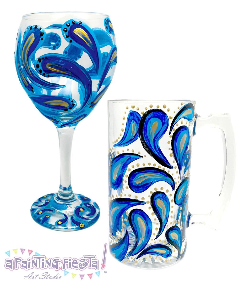 wine glass painting 2017 09 28