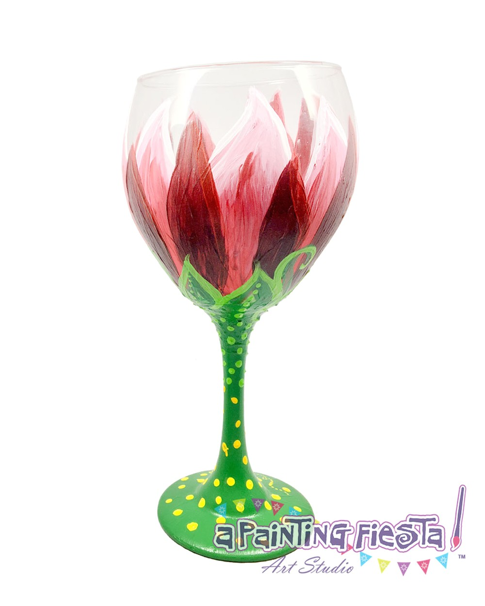 Paint and Wine Boca Raton Wine Glass Painting