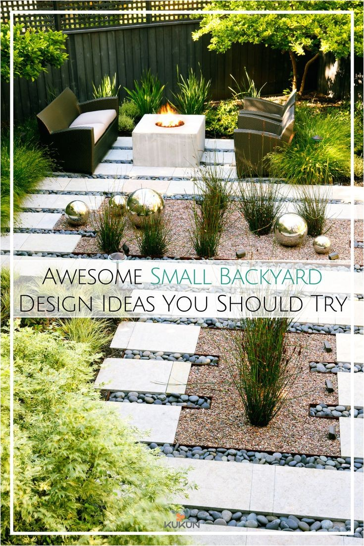 awesome small backyard design ideas you should try concrete pathways small backyard ideas