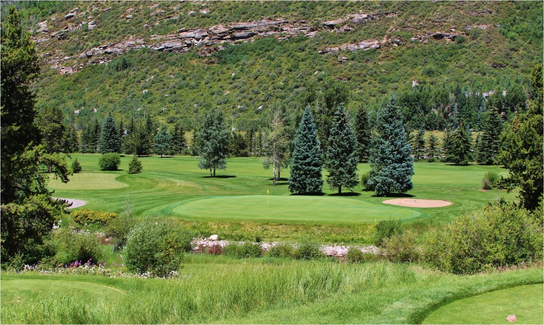 the par 3 15th hole might be the prettiest spot at vail golf club jason scott deegan golf advisor