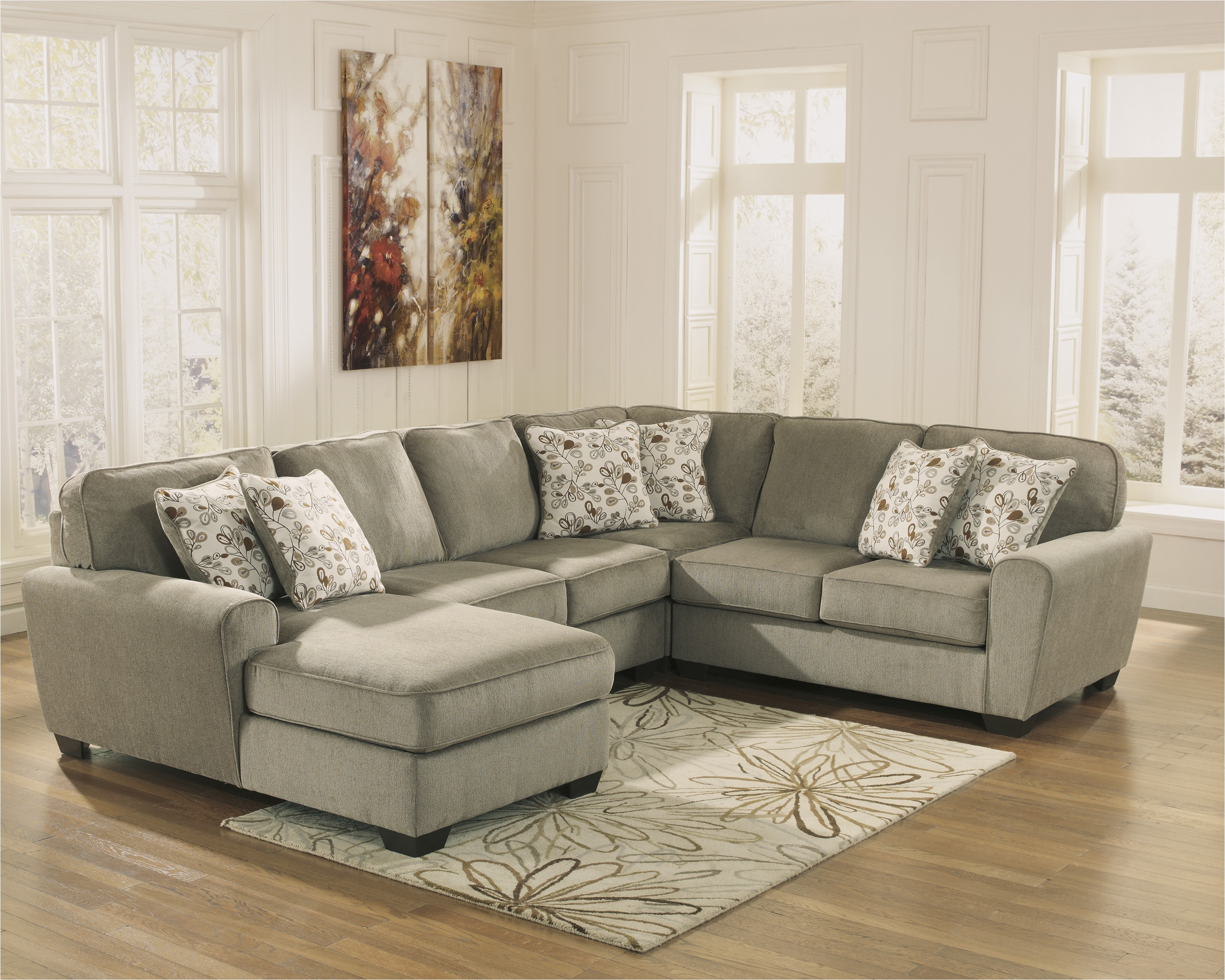 patola park patina 4 piece sectional sofa