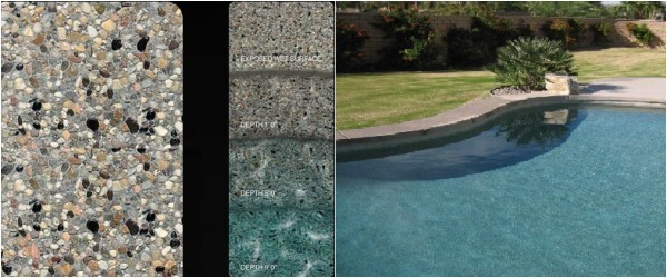 Pebble Tec Caribbean Blue Reviews Pool Finishes their Cost Lifespan Design Gardner