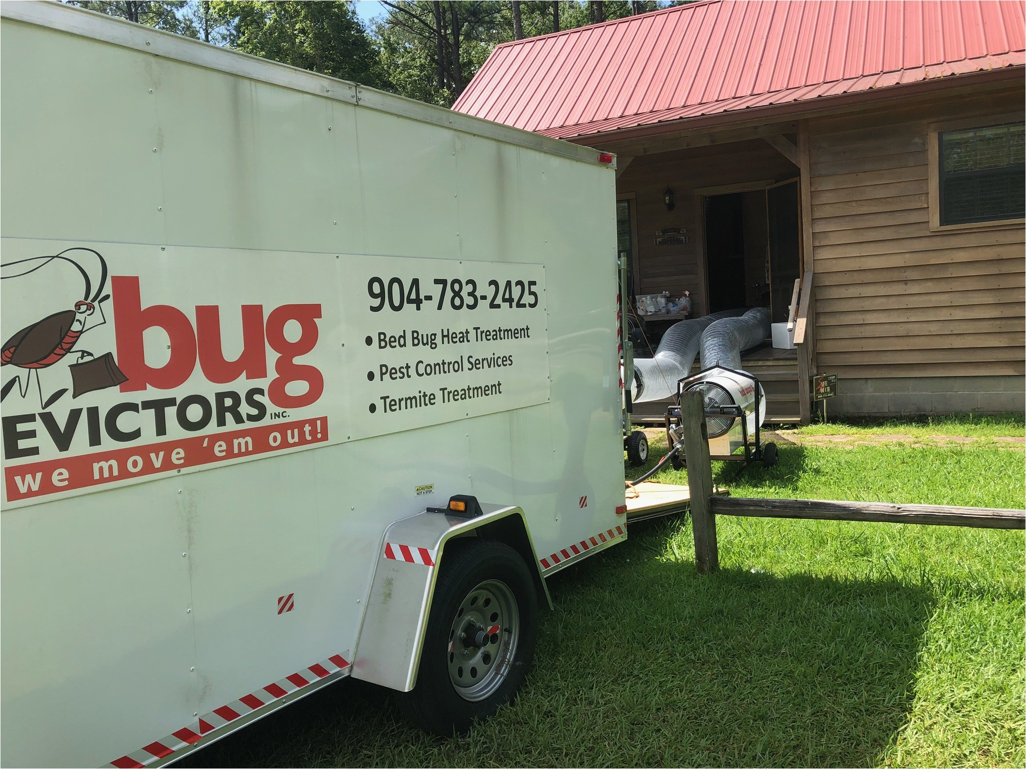 bug evictors bed bug removal 1heat treatment trailer