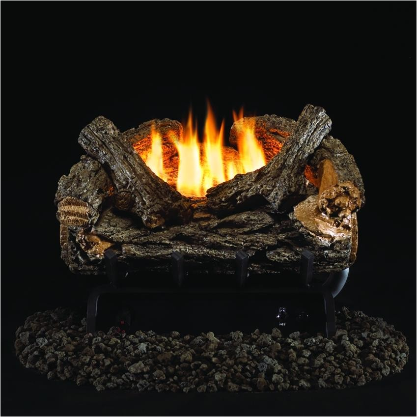 Peterson Vent Free Gas Logs Reviews Peterson Real Fyre 16 Inch Valley Oak Gas Log Set with