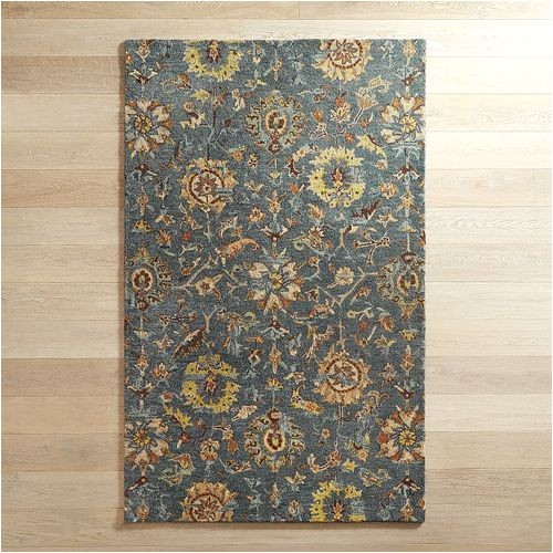 Pier One Rugs 8×10 Layne Traditional Blue 8×10 Wool Rug Pier 1 Imports