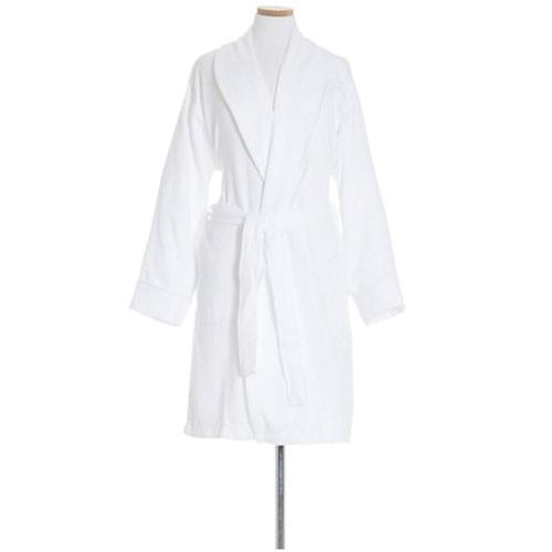 pine cone hill montauk white short robe p 16738