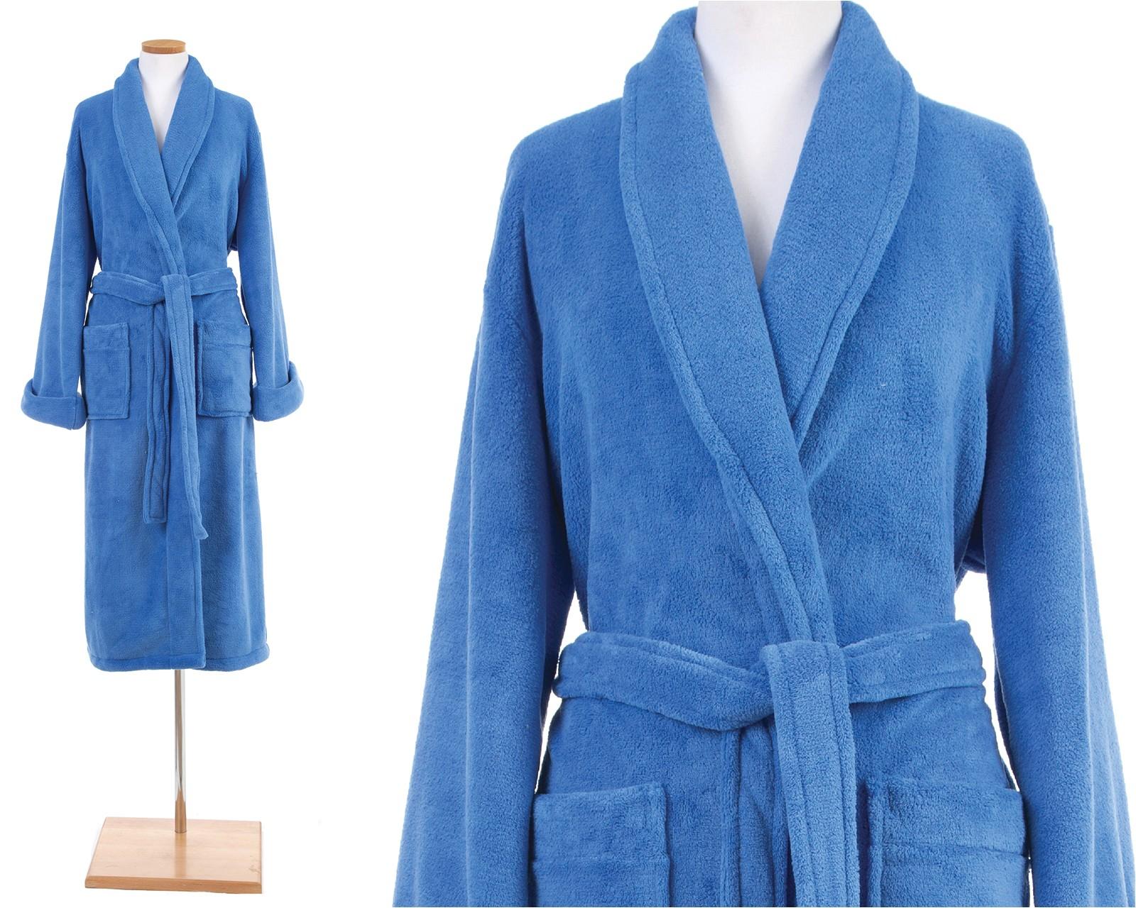 pine cone hill fleece robe