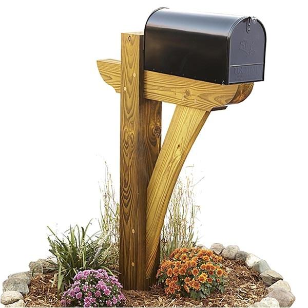 367 timber framed mailbox