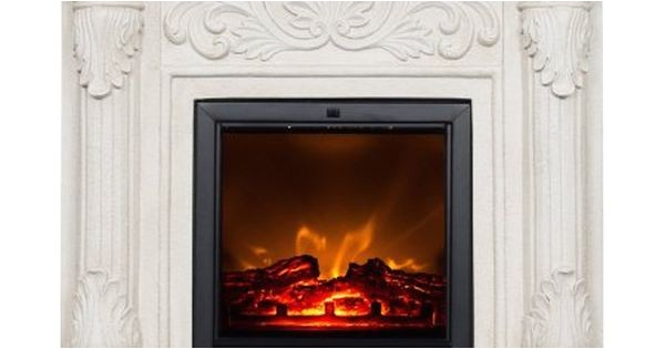 Polyfiber Electric Fireplace with 41 Mantel Dimensions Polyfiber Electric Fireplace with 41 Inch Mantle White